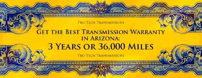 Best transmission warranty in Arizona