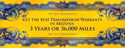 Best transmission warranty in Arizona