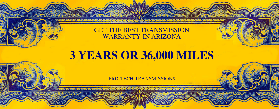 transmission repair warranty