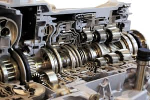 inside a transmission